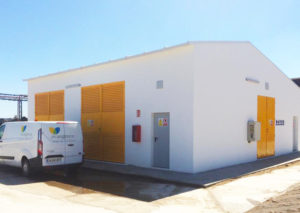 electrical building for ENCE at its biomass plant