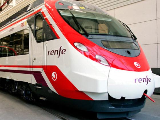 railways stations at Spain National Railways Company (RENFE)