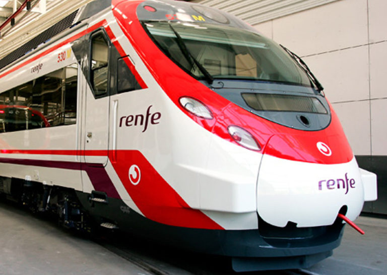 railways stations at Spain National Railways Company (RENFE)